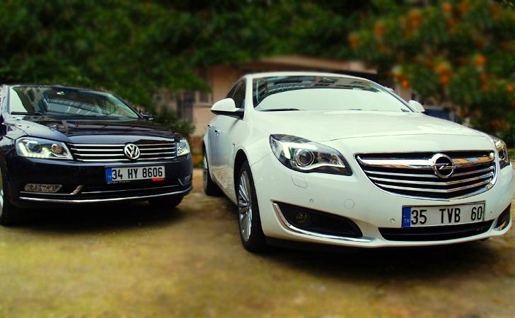 Opel Insignia ve VW Passat