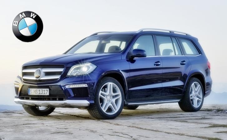 Mercedes gl bmw x7