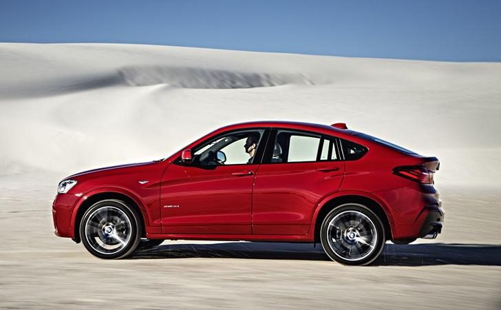 X6'ya doyamayanlara: BMW X4