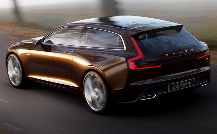 Dileğimiz V70'in geleceği böyle olsun: Volvo Concept Estate