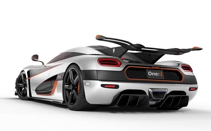 Megawatlık hız delisi: Koenigsegg One:1