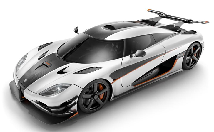 koenigsegg 1360 hp one
