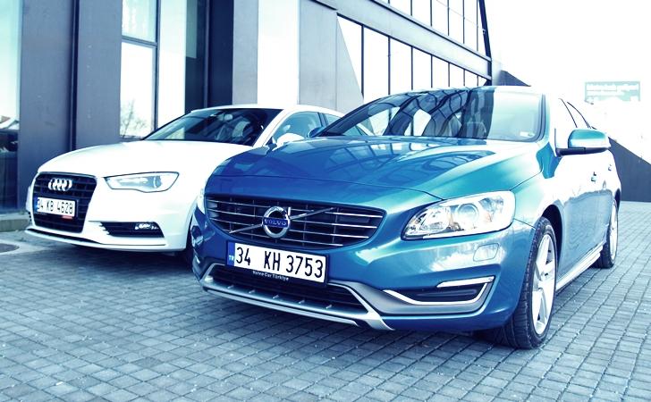 Audi A3 Sedan ve Volvo S60