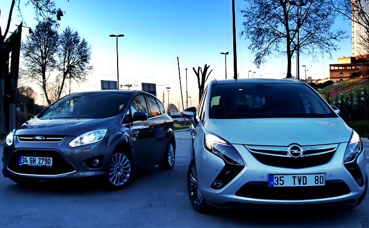 Ford C-Max ve Opel Zafira