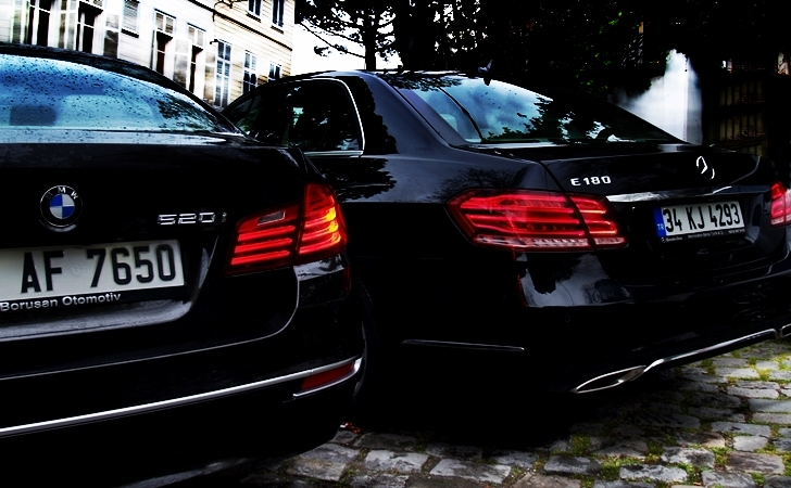 BMW 520i ve Mercedes E180