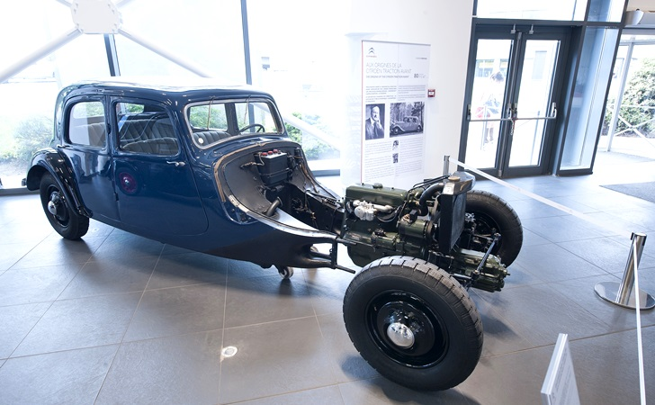 citroen traction avant 80 anniversary