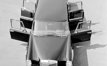 Mercedes-Benz Typ 600 Pullman-Limousine (6 Türen) aus dem Jahre 1964