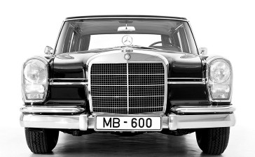 Mercedes-Benz Typ 600 Limousine aus dem Jahre 1963