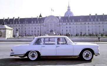 Mercedes-Benz Typ 600 Limousine in Paris