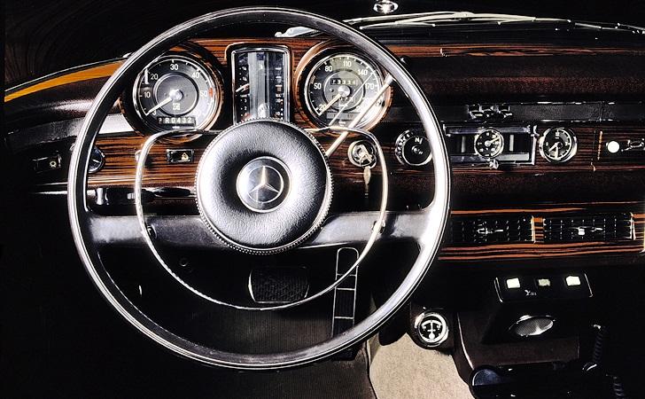 Mercedes-Benz Typ 600 Pullman-Landaulet, 1965. Sonderausführung für Papst Paul VI.