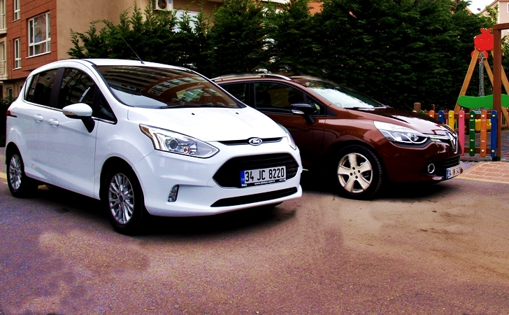 Ford bmax renault clio st