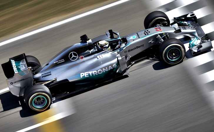 F1'de yıldızlar arası heyecan