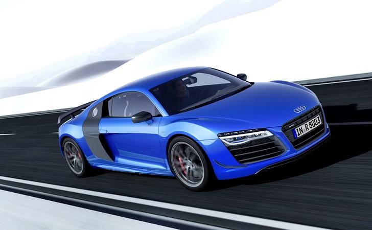 En güçlü Audi R8 lazer fara sahip
