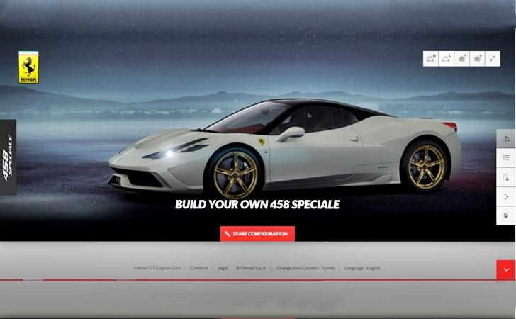 Kendi Ferrari 458'inizi kendiniz yapın