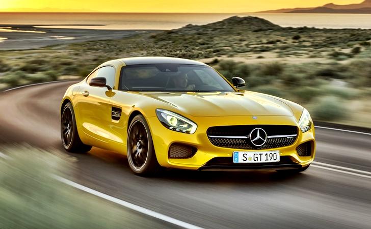 Ve işte karşınızda: Mercedes AMG GT