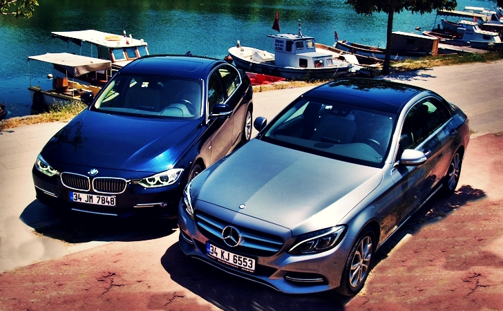 BMW 320i ve Mercedes C180