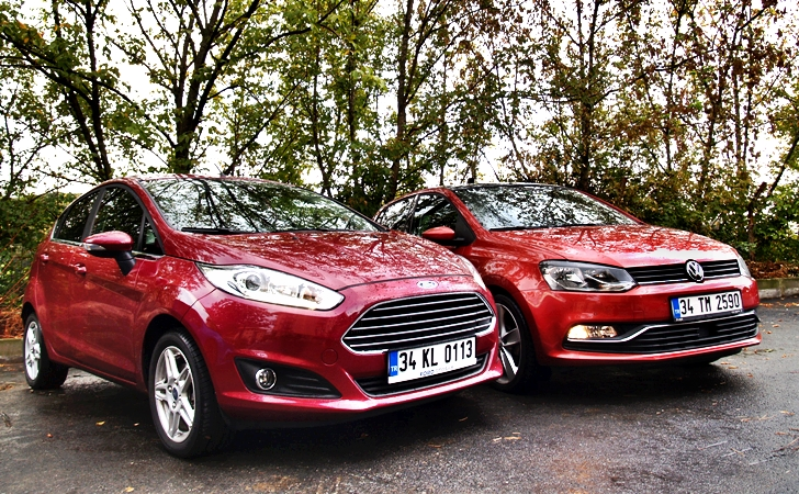 Ford Fiesta ve VW Polo