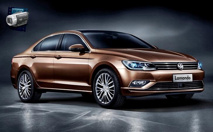 Ve işte Çinliler'in karşısında: VW Lamando
