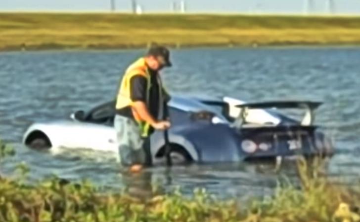 Bugattisini göle uçuran cani 1 yıl hapis yatacak
