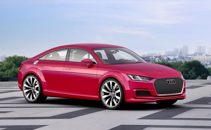 Sedanda limit denemesi: Audi TT Sportback