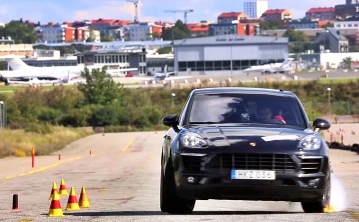 Porsche Macan geyik testinde sınıfta kaldı