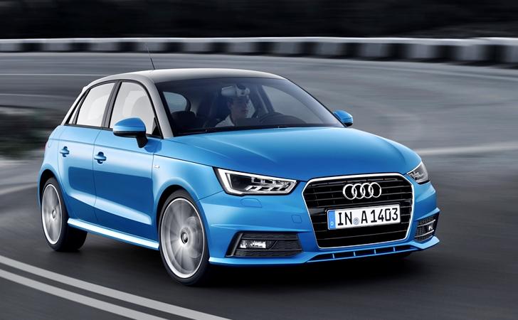 3 silindirli 4 halkalı: Makyajlı Audi A1
