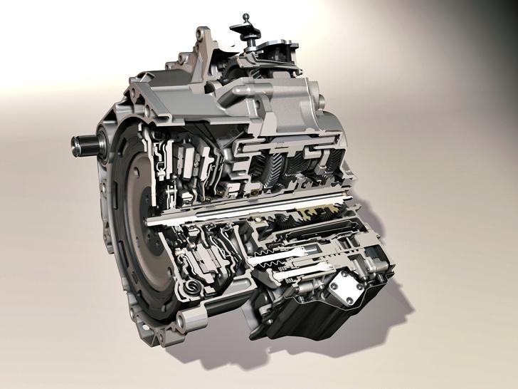 Das 7-Gang Doppelkupplungsgetriebe DSG 250 Nm von Volkswagen