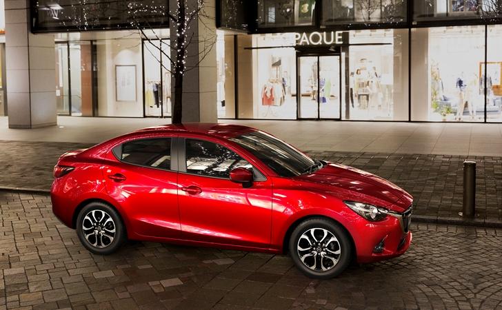 Şimdilik sadece Tayland için: Mazda2 Sedan