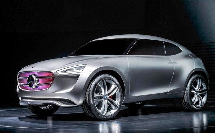 Yıldızlı Mini rakibi: Mercedes G-Code