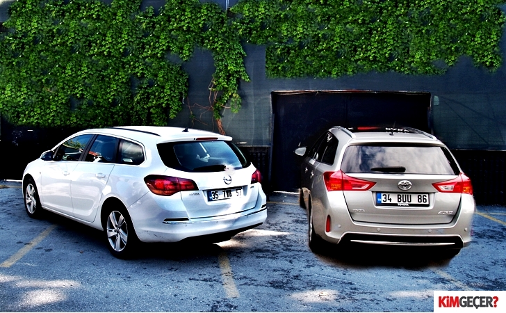 Opel Astra ST ve Toyota Auris TS