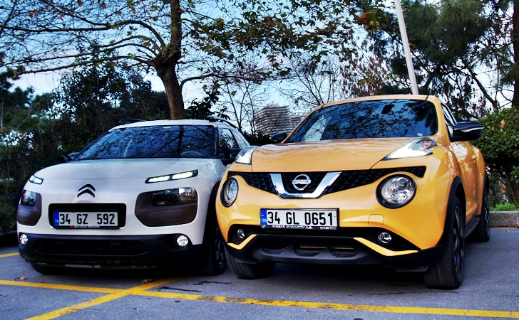 Citroen C4 Cactus ve Nissan Juke