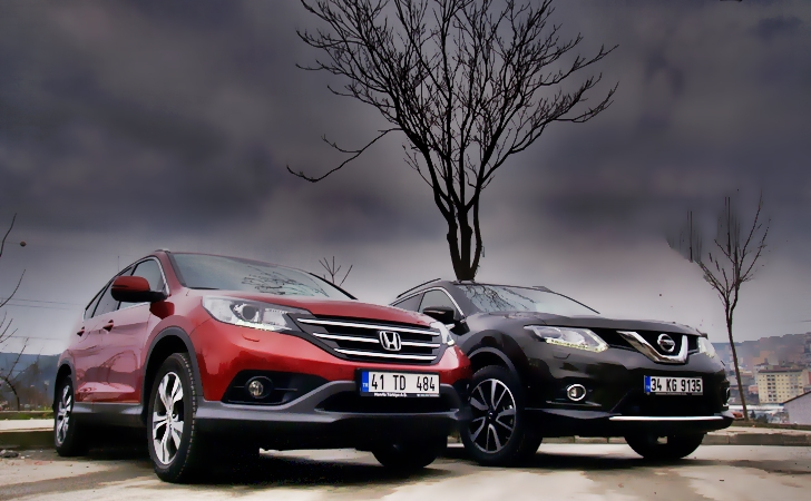 Honda CR-V ve Nissan X-Trail