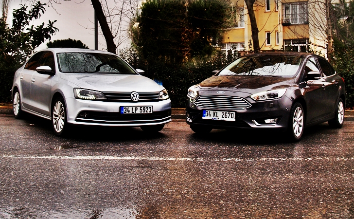 Ford Focus ve VW Jetta