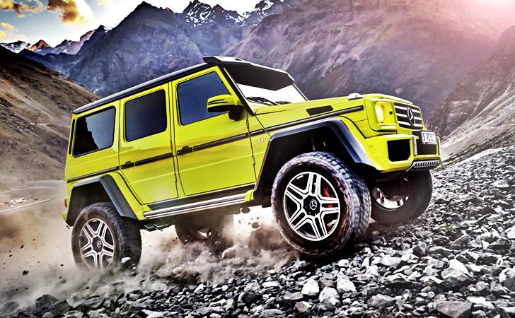 Daha fazlasına tabii ki ihtiyacınız var: Mercedes G Seris 4×4²