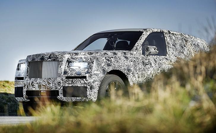 Rolls-Royce Cullinan'la tanışın