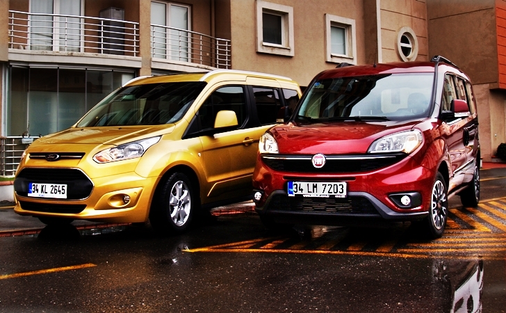 fiat doblo ve ford connect