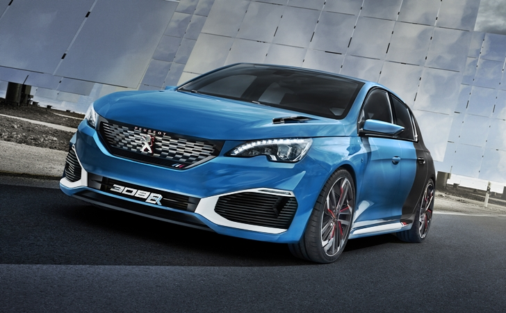 Hacim: 1,6 litre, Güç: 500 HP, 0-100 km/s: 4 Saniye: Peugeot 308 R Hybrid