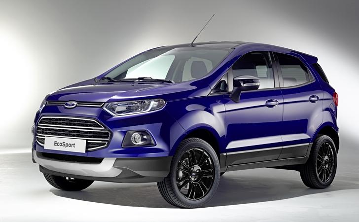 Ford EcoSport Türkiye'ye 2016'da geliyor