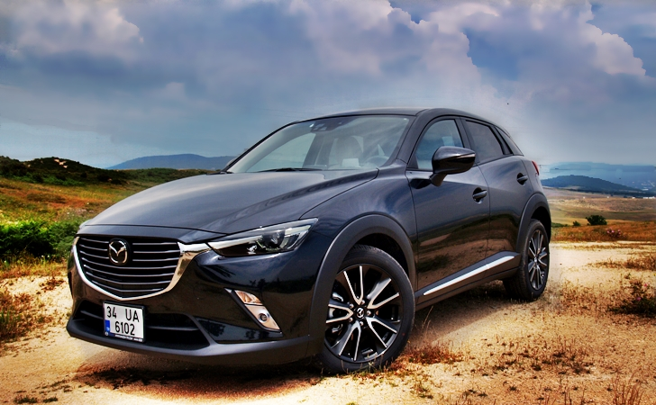 Mazda CX-3 Skyactiv-D 4WD AT