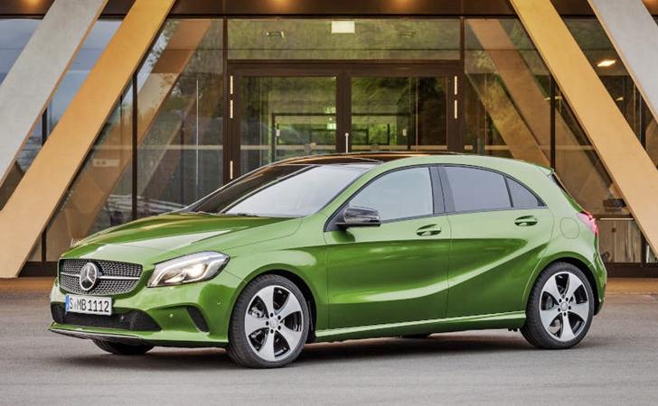 Makyajıyla karşınızda: Mercedes A Serisi
