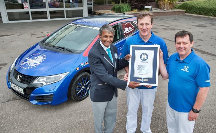 Honda'dan Guinness rekoru: 100 km'de 2,8 litre tüketim