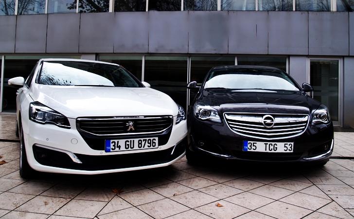 Opel Insignia ve Peugeot 508