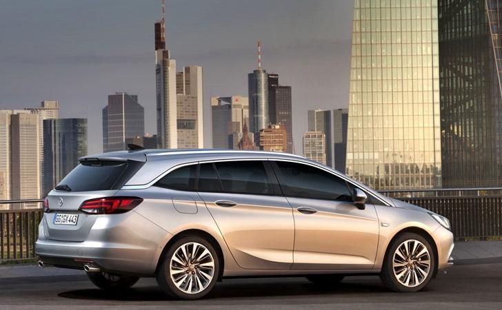 Artık gerçekten sportif: Opel Astra Sports Tourer