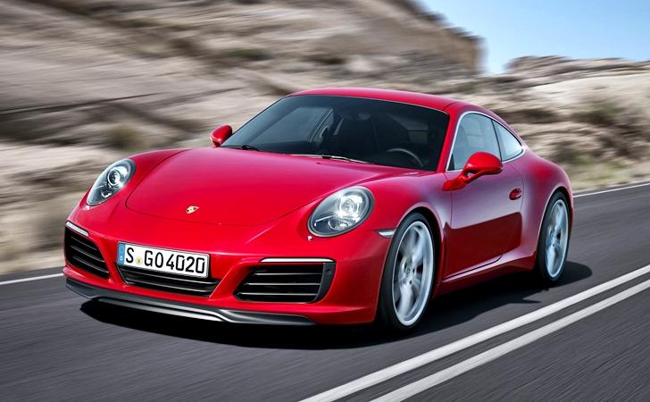 Turbo halka indi: Makyajlı Porsche 911 Carrera