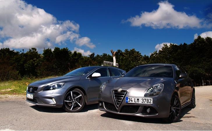 Alfa Romeo Giulietta QV mi Volvo V40 T5 mi?