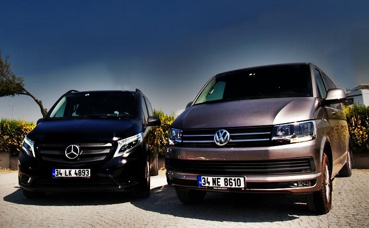 Mercedes Vito mu VW Caravelle mi?