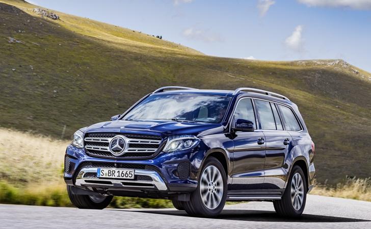 GL, S'lendi: Mercedes GLS