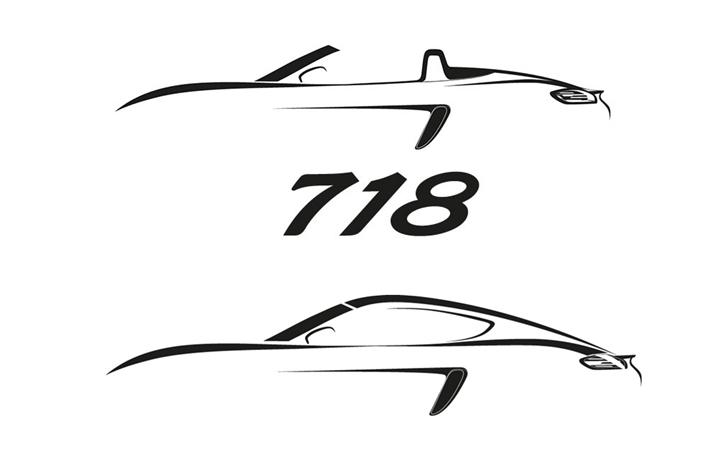 Porsche'nin yeni girişi: 718 Boxster ve Cayman