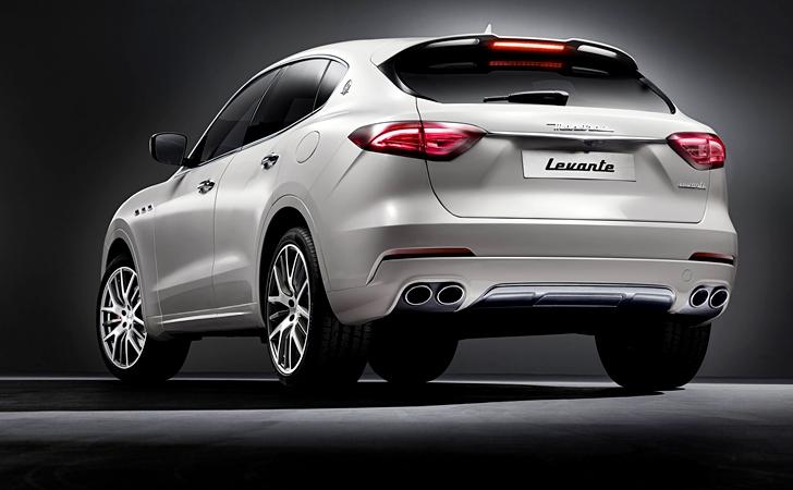 Ve işte karşınızda: Maserati Levante
