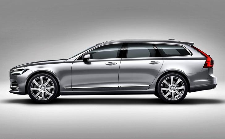 Ve işte karşınızda: Volvo V90